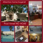 Just listed!! POOL AND SPA HOME!