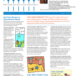 June's Home Warranty Tips and Real Estate Newsletter