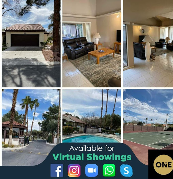 Ready to go 1-story townhome in Vegas!